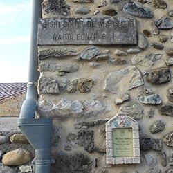 plaque-Napoleon -passage Volonne