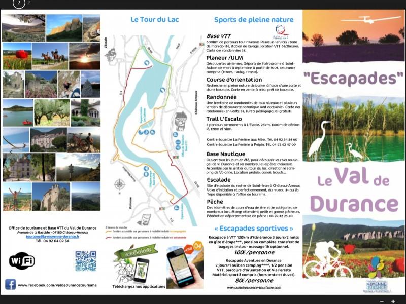 Les Escapades 2015 en Val de Durance: